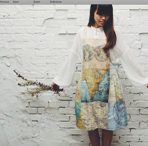 KZima The map dress