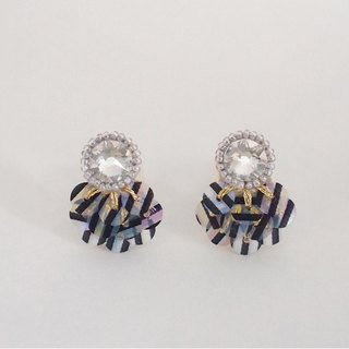 "stud earrings""bijoux & stripe"""