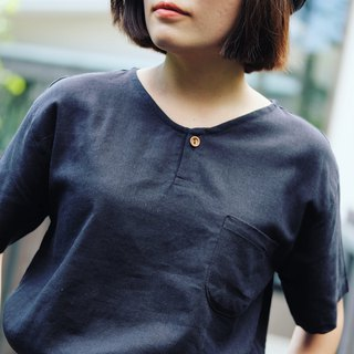 Michi Top : navy