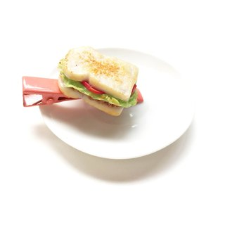 Sandwich Hairclip or