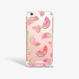 Watermelon iPhone 7 Case Clear iPhone 8 Case Clear iPhone 7 Plus Clear Case Gift
