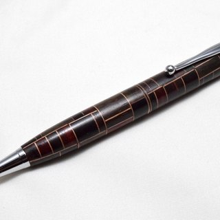 (Re-exhibition) 【Parquet】 Handmade wooden ballpoint pen Slim line CROSS refill core