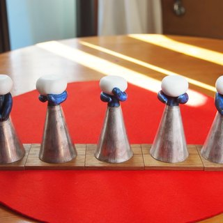 Hina dolls cups five-folk musicians