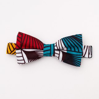 AFRICAN WAX BOW TIE