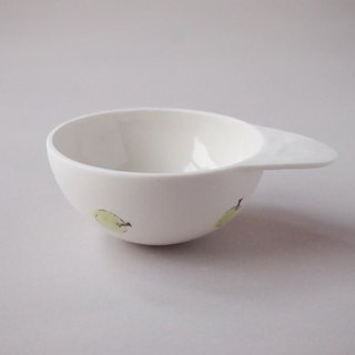Green apple spoon bowl M