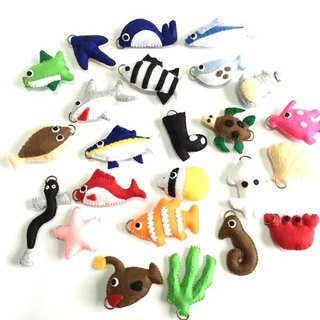 Felt fishing set mass educational toys goods handmade game