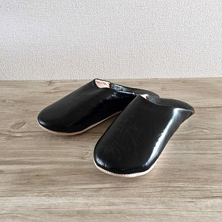 Babouche Slipper / 拖鞋 / Babushu simple black