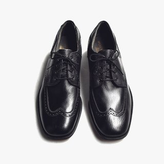 70s 美制耀司皮鞋|Bostonians Wingtip Derby US 8D EUR 40
