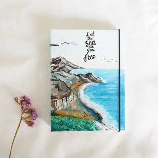The Sea of Memories.,Notebook Handmadenotebook Diary 筆記本