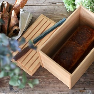 Bread box (wooden box for bread and food)
