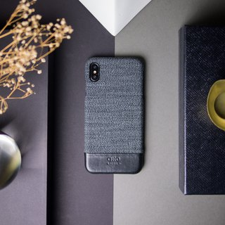 Alto iPhone XR 6.1寸 真皮手机壳 Denim - 狼灰