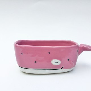 Little whale ceramic Plant Pots