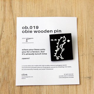 Wooden Pin Square