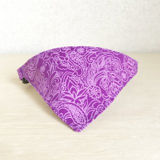 Floral Paisley Pattern Bandana style collar for cats Safety buckle safety collar