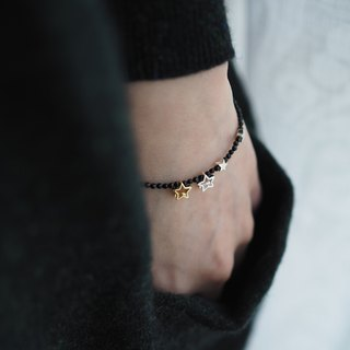 The Blackburn South Bracelet - B092 - onyx, 925 silver