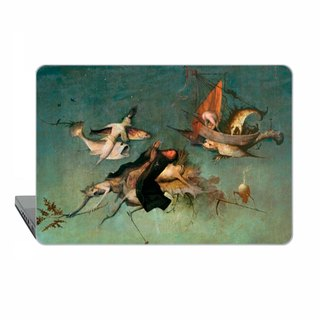 Macbook case, Pro 13 15 touch bar MacBook Air 11 13 Case, Macbook Pro 12, Macbook Pro 13 15, macbook Pro 13 15 Retina Bosch fish classic art 1761