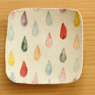 ※ Order Production Powder toasted dish of colorful drop.