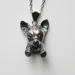 Chihuahua dog necklace