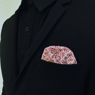 CAVEMAN Pocket Square - Web Floral