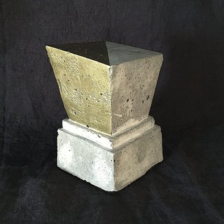 Concrete Bookend trapezoid