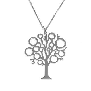 Abstract cute tree pendant