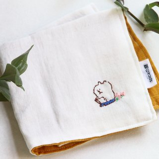 muu-chan embroidery handkerchief book
