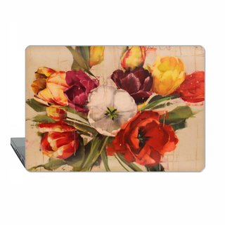 Tulips Macbook Pro 13 touch bar Case MacBook 2016 15 Case floral Macbook 11 red Macbook 12 Macbook Pro 13 Retina classic art Case Hard 1746