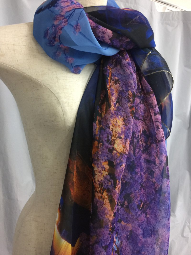 Mizuno Katsunori old work Ballett Kyoto photograph large scarf made in Japan