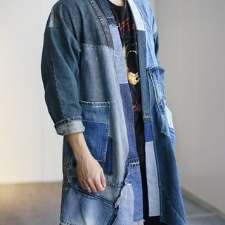 Denim Crazy Patchwork Jacket