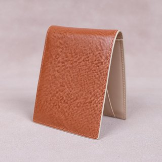 Money Clip / Card Case / Italy Cow Leather(Tan)