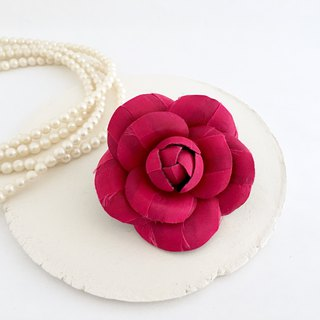 Camellia Corsage (Pink)