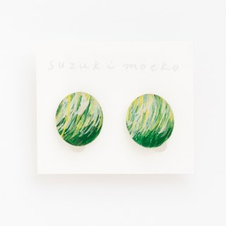 Picture earrings [circle]