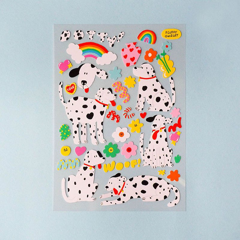 Dotty Dog Sticker
