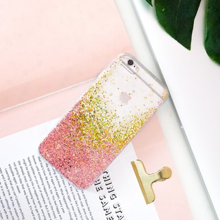 rose gold | case, phone case, glitter case, iphone case, samsung case