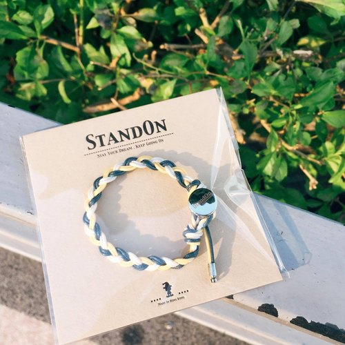 StandOn ▪ 防水经典系列手环 Basic Three Waterproof Bracelet x Pure Yellow