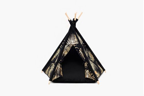 Tepee Tent_Leaf Gold_Medium Size