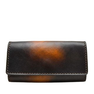 ACROMO Brown Key Purse