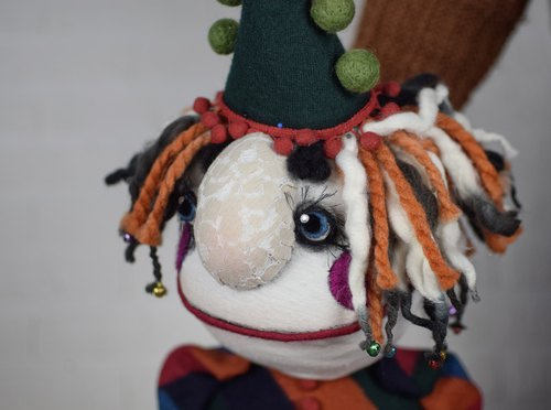Goulash - hand puppet / muppet, professional custom made doll