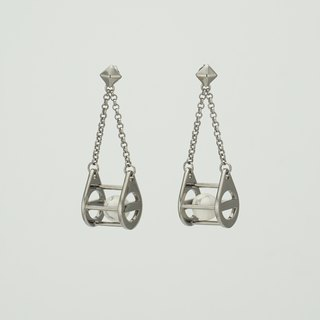 Blackdropspace Earring