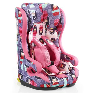 英国 Cosatto Hubbub Group 123 Isofix 汽车安全座椅 –  Kokeshi Smile (5 point plus)