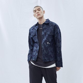 DYCTEAM - Camouflage Pattern Jacket 丹宁缇花迷彩纹外套