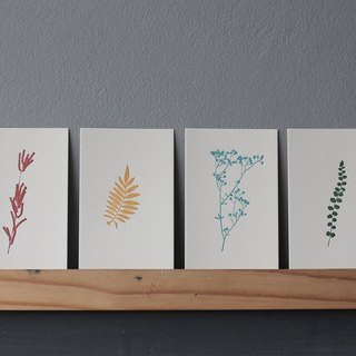 Kamalasai - Set of 4 Letterpress Prints Limited Edition