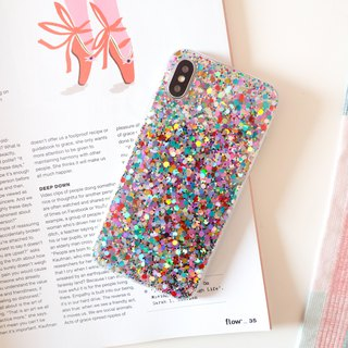 confetti | case, phone case, glitter case, iphone case, samsung case