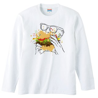 Long sleeve T shirt / appetite