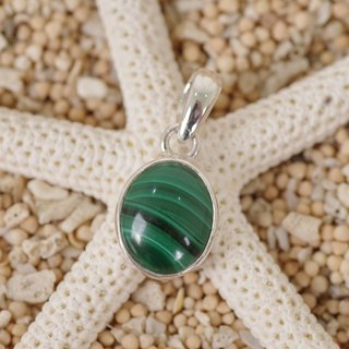Malachite's pendant top