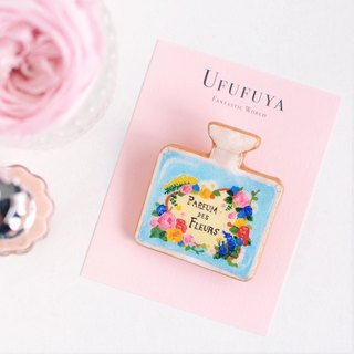 Perfume Bottle Brooch France Ufufuya