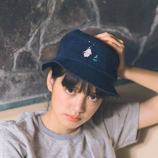 bucket hat - penguin - embroidery - 3 Colors