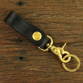 """Standard Storage""Leather Key Chain ""Standard Storage""皮革钥匙扣(黄铜原色)"