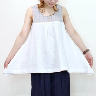 ☆ Palette ☆ 彡 linen mixed hemline tunic