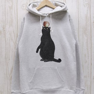 Black cat parker apple (Heather White) / RPP012-WH